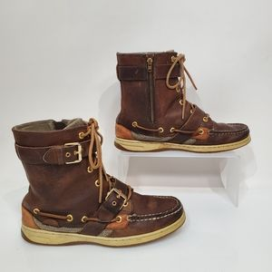 Sperry Marella Side Zip Leather Boots